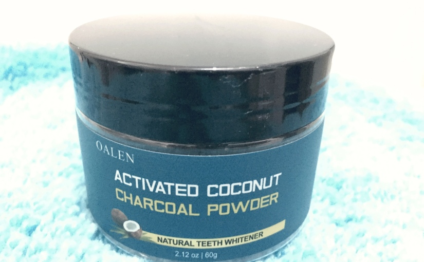 Activated Coconut Charcoal Powder: For Natural Teeth Whitener